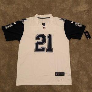 Nike #21 Ezekiel Elliot Dallas Cowboys Jersey